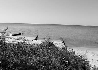 Ocean Photograph - Old Marina by Matthew Modena