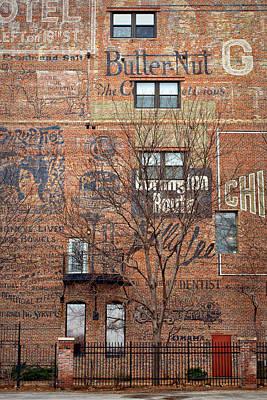 Wall Art - Photograph - Old Market - Omaha - Metz Building - #1 by Nikolyn McDonald