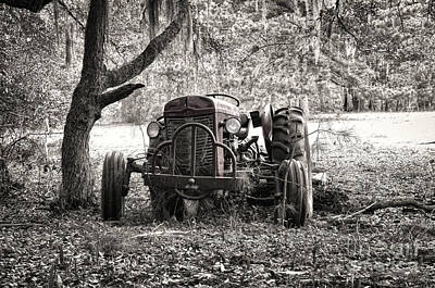Photograph - Old Massey Ferguson Tractor by Scott Hansen