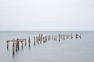 Swanage Pier Photograph - Old by Matthew Gibson