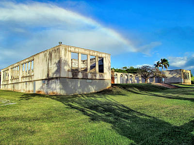 Photograph - Old Maui High School 1 by Dawn Eshelman
