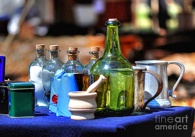 Photograph - Old Medicine by Kathy Baccari