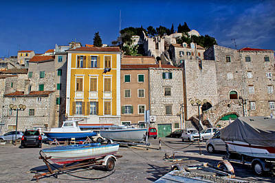 Photograph - Old Mediterranean Style Houses In Sibenik by Brch Photography