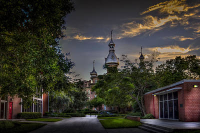 Tampa Skyline Photograph - Old Meets New by Marvin Spates