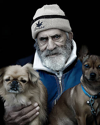 Photograph - Old Men by Patrick Boening