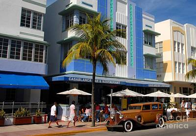 Antique Automobiles Photograph - Old Miami by David Lee Thompson