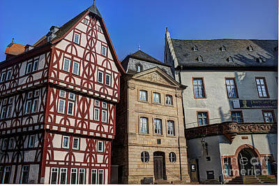 Photograph - Old Michelstadt Germany  by Morgan Wright