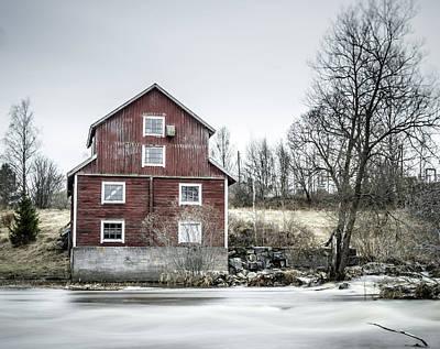 Old Mill 2 Art Print by Matti Ollikainen