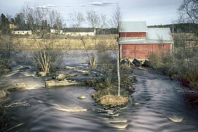 Old Mill 4 Art Print by Matti Ollikainen