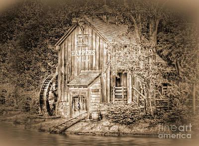 Arnie Goldstein Photograph - Old Mill by Arnie Goldstein