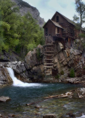 Photograph - Old Mill At The Crystal River by Ellen Heaverlo