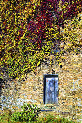 Old Mill Door Art Print by Paul W Faust -  Impressions of Light