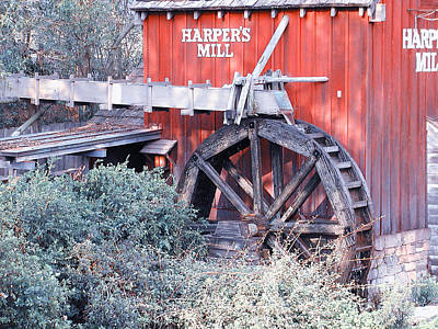 Photograph - Old Mill by George DeLisle