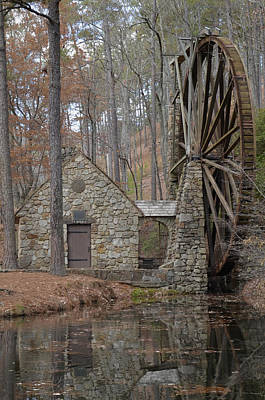 Photograph - Old Mill In The Fall by Ed Waldrop