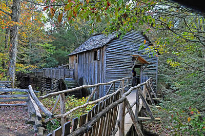 Old Mill Art Print by Kenny Francis