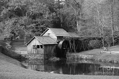 Virginia's Old Mill Art Print by Eric Liller