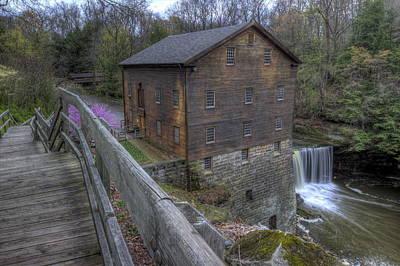Old Mill Of Idora Park Art Print