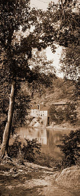Old Mill On The Potomac River, Maryland, Jackson, William Art Print by Litz Collection
