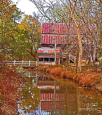 Photograph - Old Mill by Sandra Clark