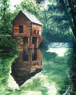 Old Mill Stream Art Print