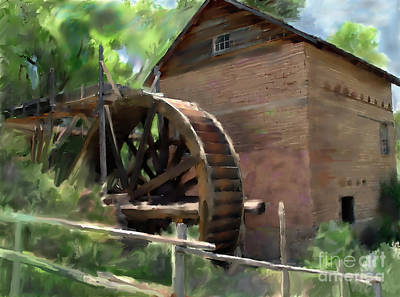 Painting - Old Mill by Ursula Freer