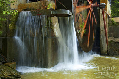 Old Mill Water Wheel Art Print by Paul W Faust -  Impressions of Light