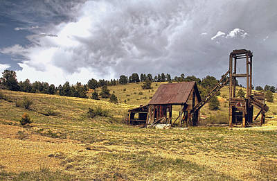 Old Mine In Gilpin County Colorado Art Print
