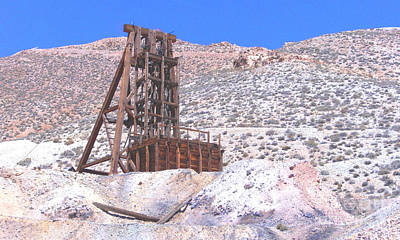 Photograph - Old Mine by Marilyn Diaz