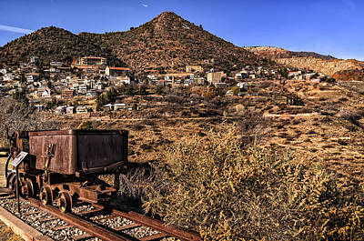 Photograph - Old Mining Town No.25 by Mark Myhaver