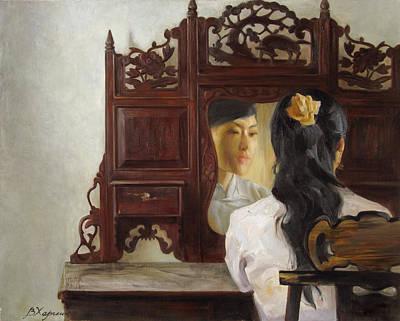 Old Mirrow Original by Victoria Kharchenko