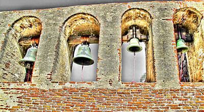 Neophyte Photograph - Old Mission Bells by Jason Abando