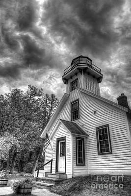 Old Mission Lighthouse Art Print by Twenty Two North Photography
