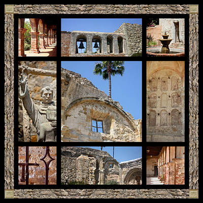 Old Mission San Juan Capistrano Art Print by Art Block Collections