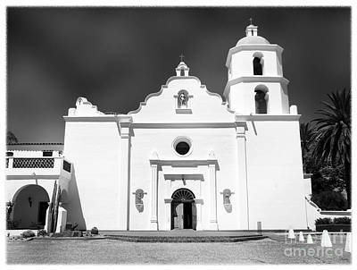 Old Mission San Luis Rey De Francia Print by Glenn McCarthy Art and Photography