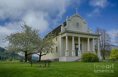 Photograph - Old Mission Spring by Idaho Scenic Images Linda Lantzy