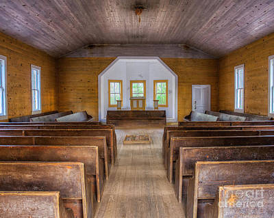 Photograph - Old Missionary Baptist by Anthony Heflin
