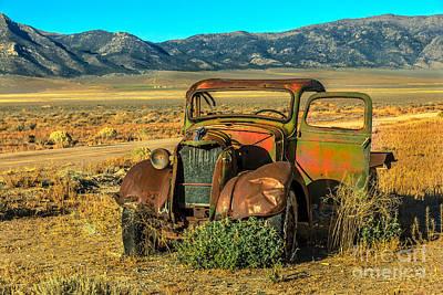 Old Trucks Photograph - Old Model Tt by Robert Bales
