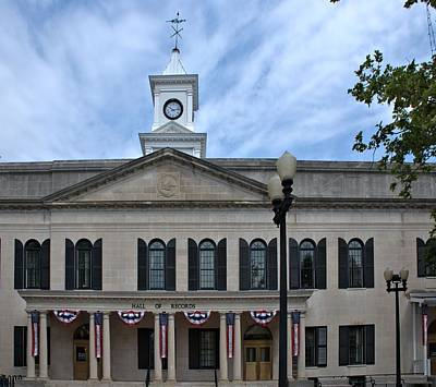 Photograph - Old Monmouth County Courthouse by Steven Richman