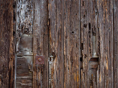 Photograph - Old Monterey Door by Derek Dean