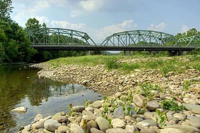 Photograph - Old Montoursville Iron Bridge by Gene Walls