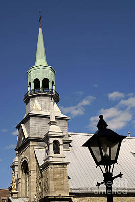 Photograph - Old Montreal Chapel by John  Mitchell