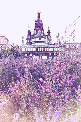 Montreals Oldest Photograph - Old Montreal Lavender by Tanya Harrison