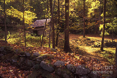Photograph - Old Mountain Shed by Paul W Faust -  Impressions of Light