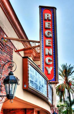Photograph - Old Movie Theater 2 by Mel Steinhauer