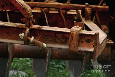 Photograph - Old Mowing Machine by Doc Braham