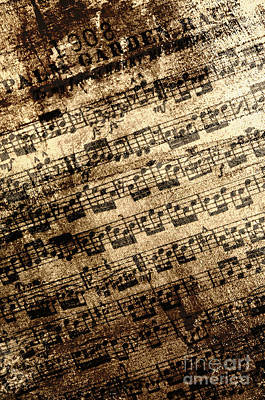 Old Sheet Music Photograph - Old Music by Margie Hurwich