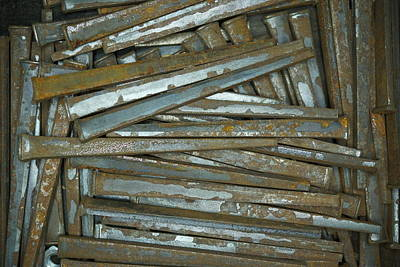 Photograph - Old Nails by Ernie Echols