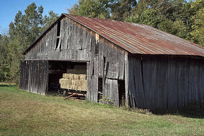 Photograph - Old Nc Barn 2 by Patrick M Lynch