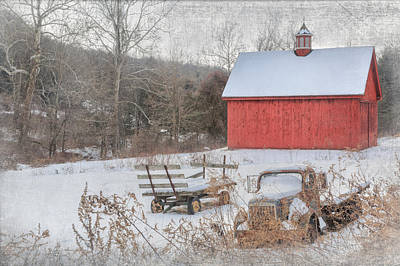 Old Farm Photograph - Old New England by Bill Wakeley