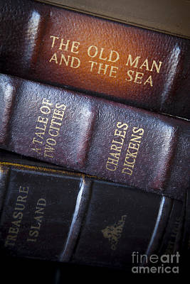 Photograph - Old Novels by Brian Jannsen